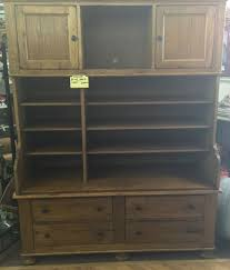 Antique Breakfront China Cabinet by Broyhill Attic Heirlooms Furniture Breakfront China Oak Cabinet