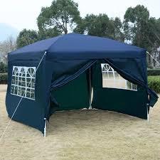10 X 5 Canopy by Goplus 10 U0027 X 10 U0027 Wedding Party Canopy Shelter With 2 Windows