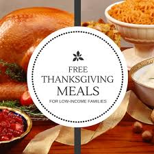 free thanksgiving meals for low income families inland empire