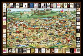 Wisconsin Winery Map by Products Made In Texas 40 Texas Made Specialty Gifts