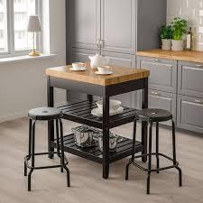 does ikea kitchen islands vadholma kitchen island black oak width 31 1 8 ikea
