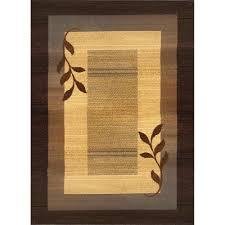 Area Rugs Okc by Home Dynamix Royalty Brown Blue 7 Ft 8 In X 10 Ft 4 In Indoor