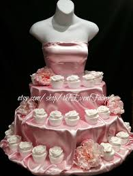 bridal cupcakes couture cupcake stand for birthday sweet 16 bridal