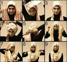 tutorial hijab turban untuk santai 30 hijab styles step by step style arena projects to try