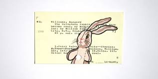 rabbit library the velveteen rabbit on library card print of by wingedworld