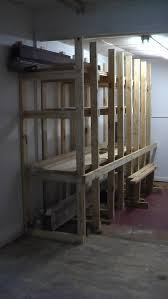 Wood Storage Rack Plans by Simple Lumber Storage Rack By Sailor Lumberjocks Com