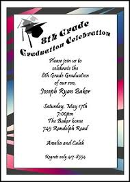 words for graduation cards create your 8th grade graduation announcements invitations
