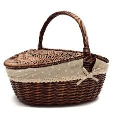 high quality willow picnic basket promotion shop for high quality