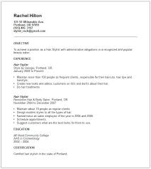 cosmetology resume template cosmetologist resume template resumes cosmetology sle org free