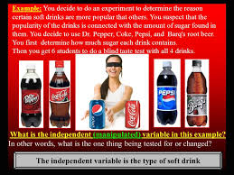 Pepsi Blind Taste Test Monday 8 17 15 Science Starter In Your Composition Notebook Copy