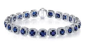 sapphire bracelet with diamonds images Meghan blue sapphire bracelet steiners jewelry san mateo ca jpg