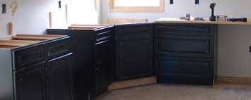 How To Level Kitchen Base Cabinets Assembling A Corner Sink Base Cabinet Diydiva