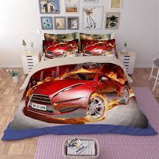 Cars Bedroom Set Full Size Fun Race Car Bedroom Decor Ideas Bedding Set Carstrackburn Bedding