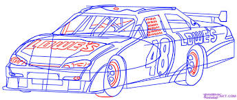 drawn race car drawing pencil and in color drawn race car drawing