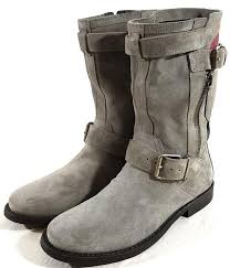 grey motorcycle boots burberry grantville grey boots on sale 52 off boots u0026 booties