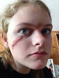 special effects makeup schools atlanta 18 best scar makeup ideas images on stuff