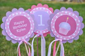 Party Centerpieces Girls Birthday Party Decorations Table Centerpiece Sticks