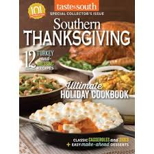a southern thanksgiving menu