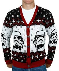 sweater wars wars stormtrooper sweater cardigan mens