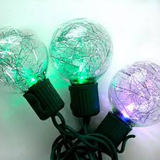 amazon com 10 color changing globe string lights 13 feet g40