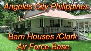 angeles city philippines barn houses clark air force base youtube