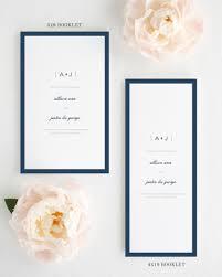 modern wedding programs sophisticated modern booklet wedding programs booklet wedding