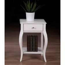 alexandra brush white 1 drawer nightstand alexandra brush white 1