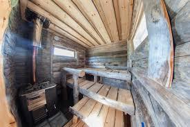 Sauna from Finland Die finnische Sauna