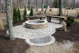 Firepit Base Pa Ti Oooo Installing The Patio Paver Base Henning House Pit