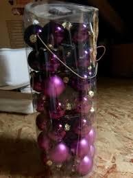 weihnachtsdeko lila violett und lichterketten günstig abzugeben in