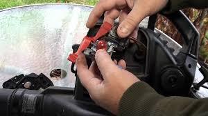 replacing the carburetor on a craftsman model 358 leaf blower