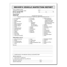 vehicle inspection report template drivers daily vehicle inspection report form templates resume