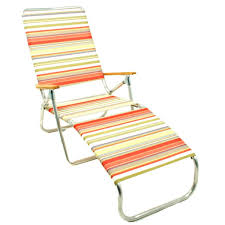 Lounge Camping Chair Portable Beach Chair Design Customized Printing Promotional Beach