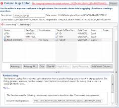 Forum Map Information Management Optim Luw Rand Lookup Error Saving Column