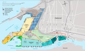 Oakland Map Terminal Specifications Port Of Oakland