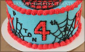 spiderman birthday sarah u0027s sweets u0026 treats