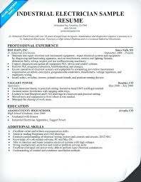electrical technician resume sample sample resume for electrical