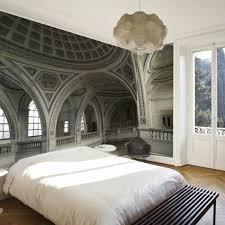 tapisserie pour chambre adulte papier peint trompe l oeil chambre un papier peint trompe l 39