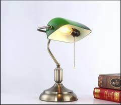 Dark Bronze Desk Lamp Table Lamps Sheffield Glass 1 Light Blue Table Lamp