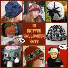 10 knitted halloween hats u2013 knitting