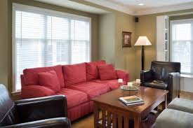 paint colors for living room with red couch centerfieldbar com