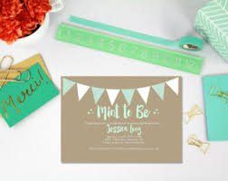 mint to be bridal shower printable mint to be bridal shower sign mint bridal shower