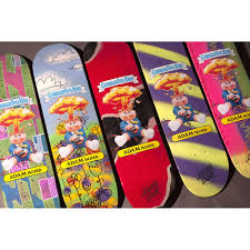 Blind Micro Skateboard Santa Cruz X Garbage Pail Kids Blind Bag Deck 8 25