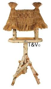 Bird Table L Design Birch Bird Table On Pole L Fb317 8714982104473 Trends