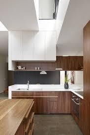 cuisine et bois cuisine en bois moderne affordable cuisine noir mat et bois u