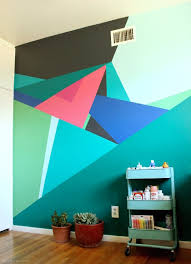 paint this geometric wall design geometric wall wall murals paint this geometric wall design geometric wall wall murals and paintings