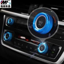 bmw 3 series accesories aliexpress com buy air conditioning sound adjusting knob cover