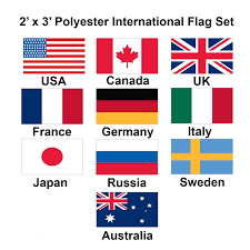 2x3 Flags International Flags 1 800flags Buy Flags Of The World 1