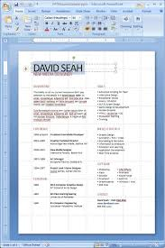 Powerpoint Resume 12 Best Great Resumes Images On Pinterest Cover Letter Sample