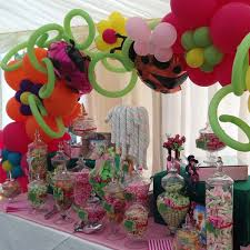 Pink Table L Tinkerbell Pink And Green Sweetie Table Buffets L Sweetie
